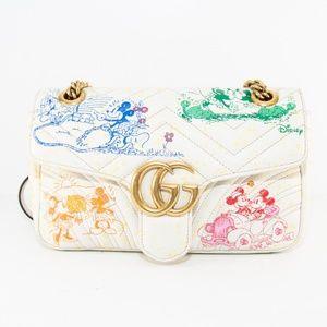 Gucci GG Marmont Small Shoulder Bag - Disney